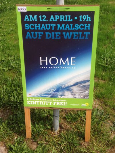 Plakat 2. Grünes Kino in Malsch