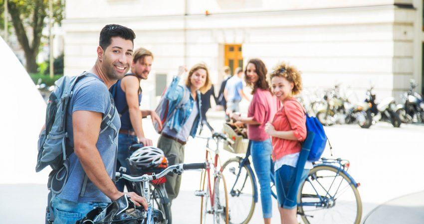 Komm, lass uns gemeinsam Rad fahren – Stadtradeln © Klima-Bündnis