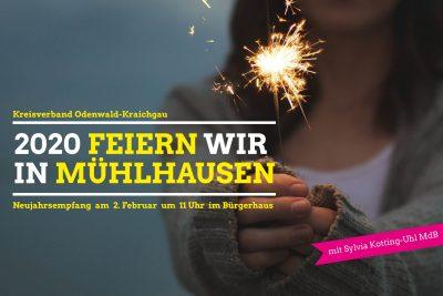 Neujahrsempfang des grünen Kreisverbandes @ Bürgerhaus in Mühlhausen