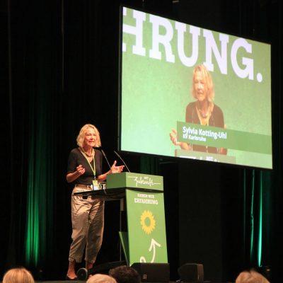 Sylvia Kotting-Uhl bei einer Rede