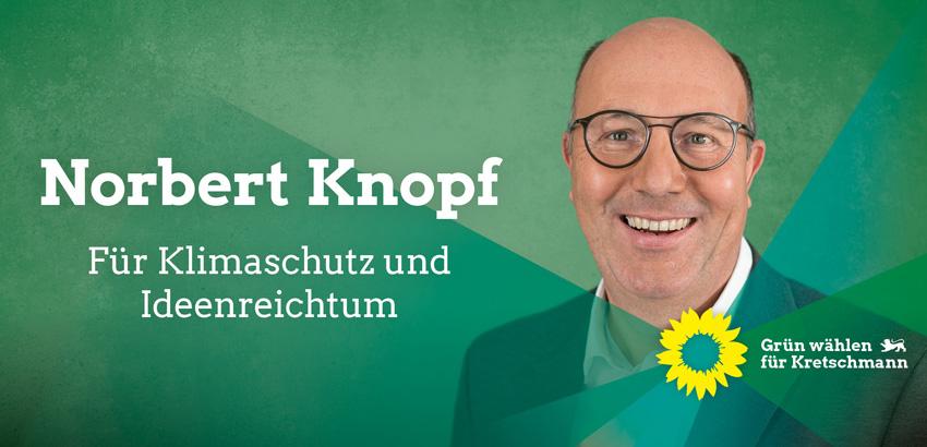 Norbert Knopf - für Klimaschutz und Ideenreichtum
