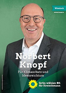 Wahlplakat Norbert Knopf