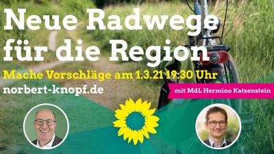 Neue Radwege für die Region @ online